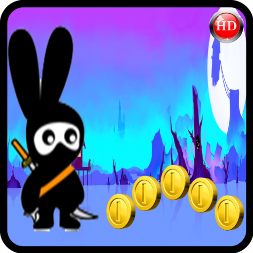 Tom Bunny ninja Run Dash