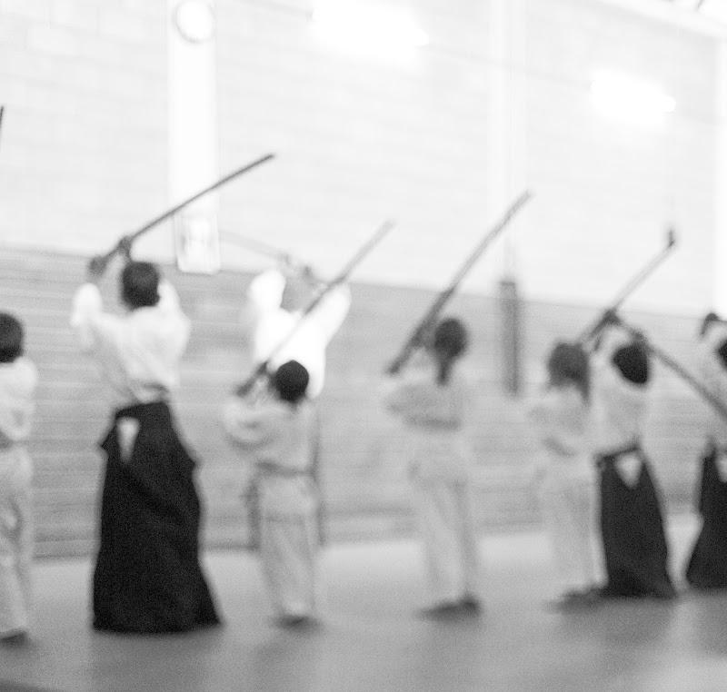 Bambini apprendono Aikido di Steven_Hope