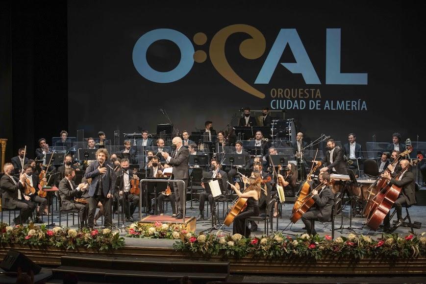 Un momento del concierto de Año Nuevo de la OCAL.