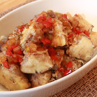 Fried Eggplant (가지 튀김).
