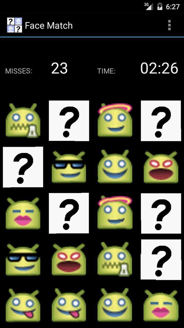 Скриншот Face Match: Memory Game