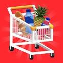 Hypermarket 3D icon
