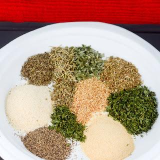 Homemade Greek Seasoning Mix.
