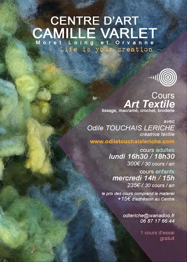 ARTS TEXTILES CENTRE D'ART CAMILLE VARLET