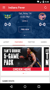 Indiana Fever- screenshot thumbnail