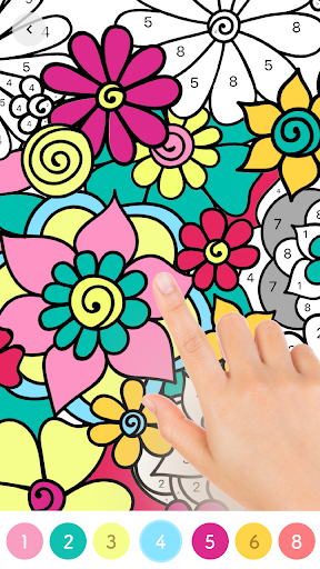 Paint.ly Color by Number - Fun Coloring Art Book - screenshot