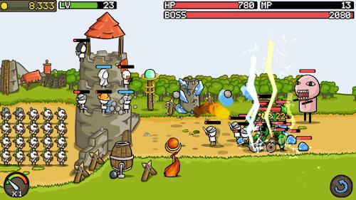 Screenshot 2 Grow Castle 1.21.11 APK MOD