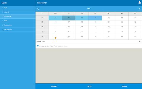 Eijsync personeelsplanner screenshot 7