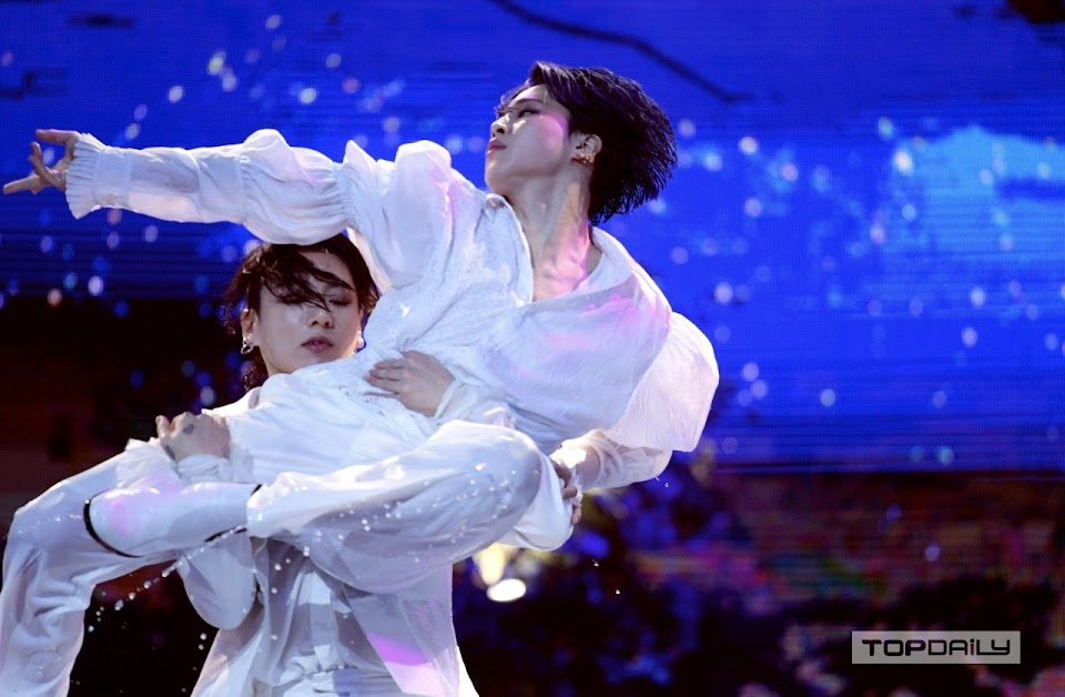 bts jungkook jimin black swan melon music awards 1