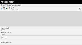 screenshot of Canon PRINT Business