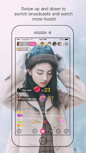 Creamy Show - Live Streaming Video Chat 2.7.2 screenshots 3