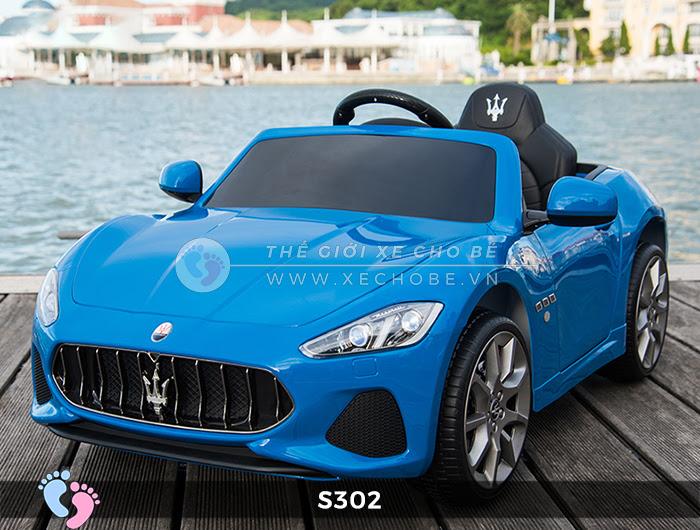 Ô tô cho trẻ em cao cấp Maserati S-302 8
