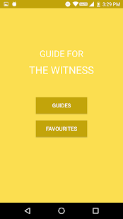 Guide for The Witness - náhled