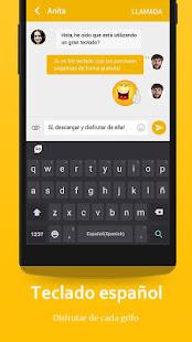 App Spanish Language - GO Keyboard APK for Windows Phone