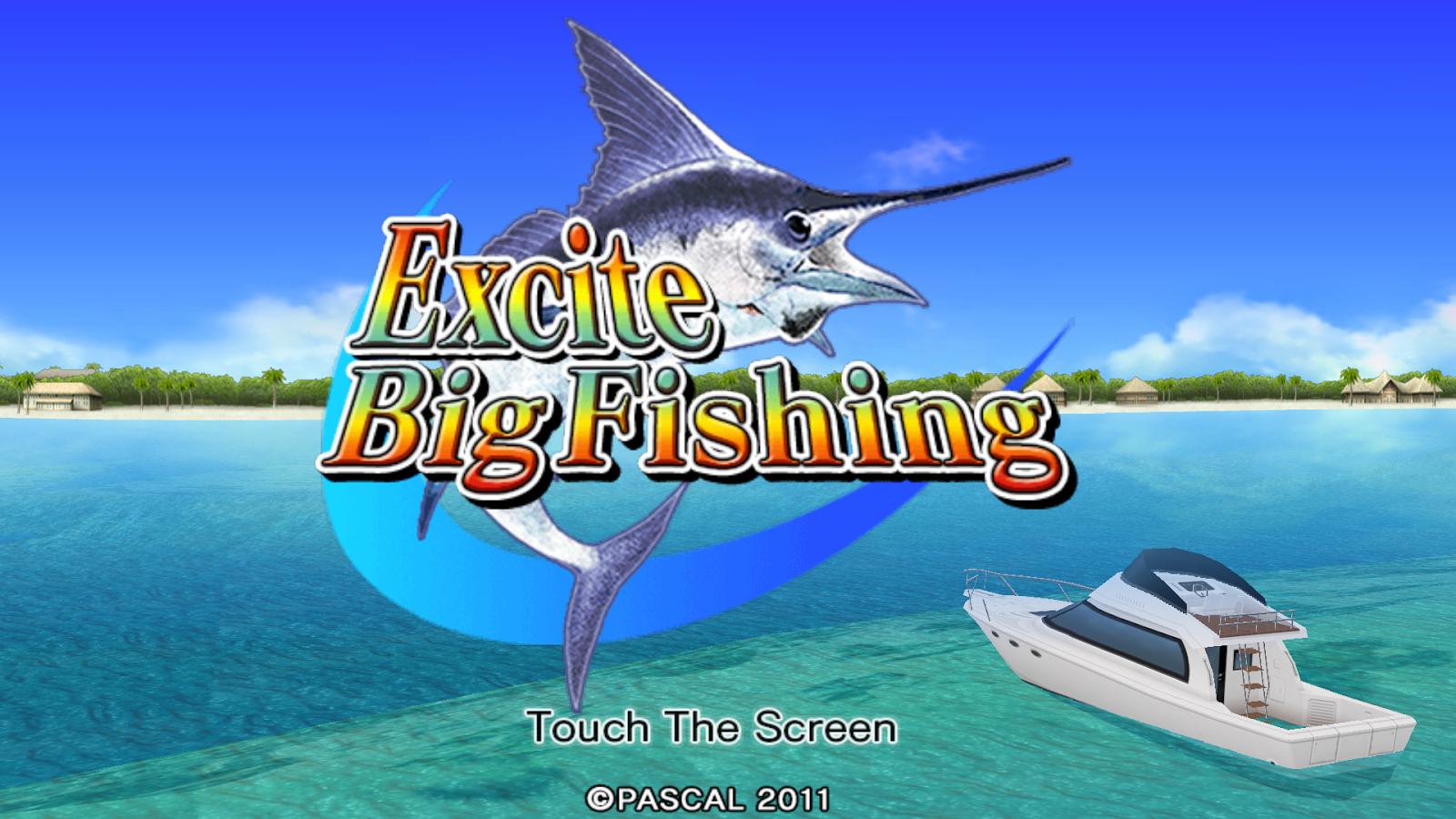 Excite BigFishing- screenshot