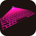 Hologram Virtual Keyboard 3D icon