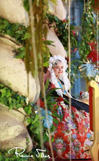 Noelia Vinal Rondón ya es bellesa del foc infantil d'Alacant