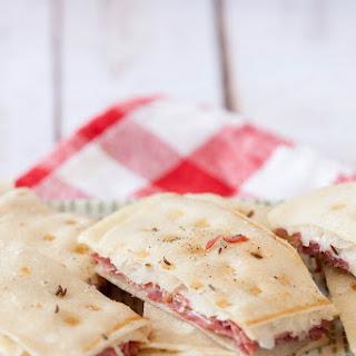 Reuben Tortilla Panini Strips.