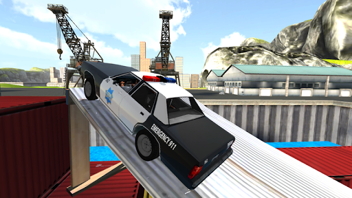 Police Car Drift Simulator  captures d'u00e9cran 2
