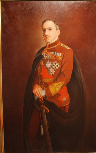 Portrait of King Alexander I of Yugoslavia