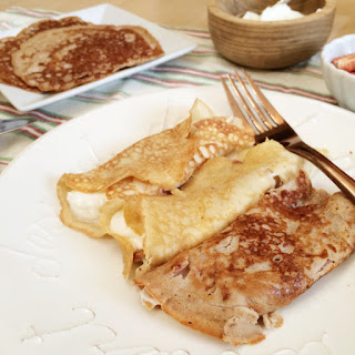 Low Carb Crepes (two ways!)