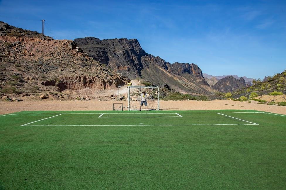 Bilad Sayt Football Field, Oman