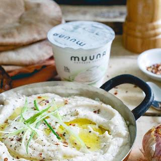 Roasted Garlic White Bean Dip.