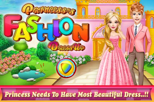 プリンセスファッションは ゲームをドレスアップ