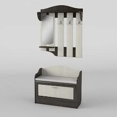 Прихожая №2 мебель разработана и произведена Фабрикой Тиса мебель