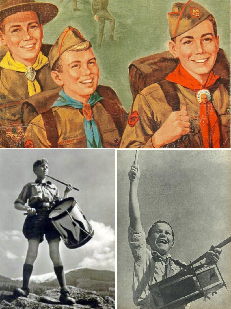Скауты и их немецкие, а также советские эпигоны