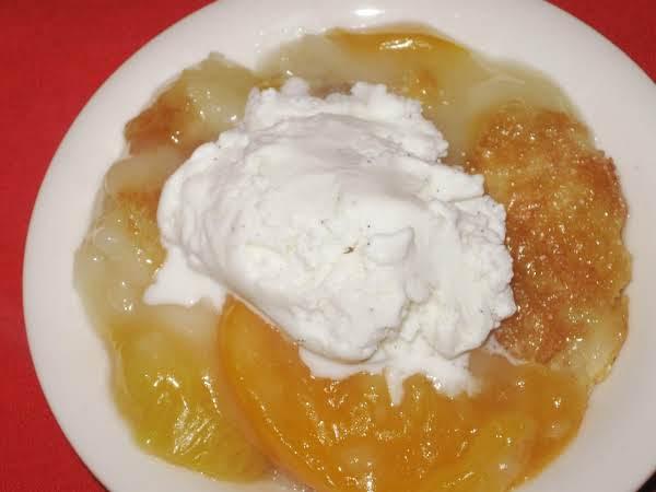 Peach Cobbler, The Old Cuppa Recipe