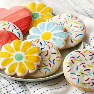 Painted Sugar Cookies.