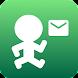 メール歩数計ミマモリィ - Androidアプリ