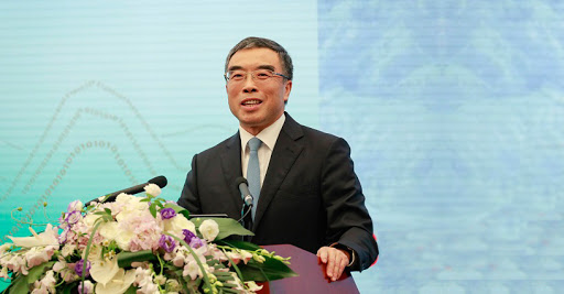 Huawei's chairman Liang Hua.