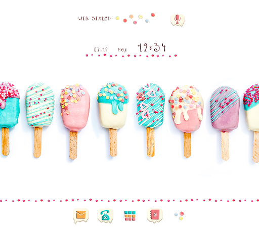 Cute Wallpaper Pop Popsicles Theme 1.0.0 Windows u7528 1