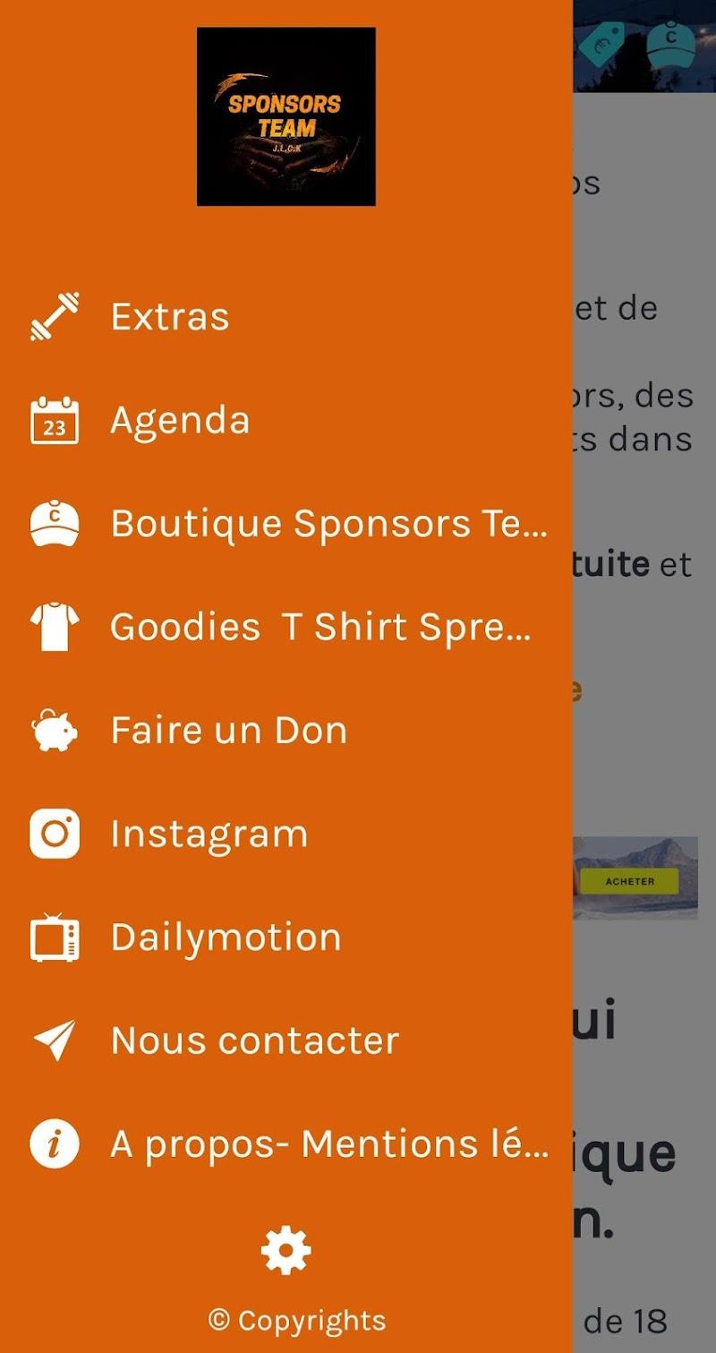 Скриншот Sponsors Team