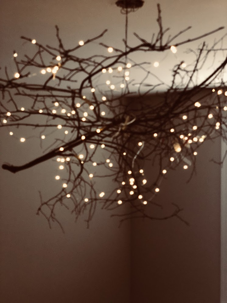 I Added A Few Strings Of Fairy Lights And See This Beauty Glowing Up Your Rustic Indoors Outdoors