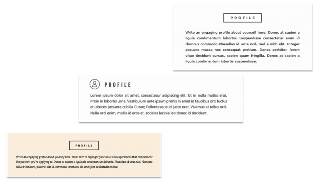 graphic design resume summary