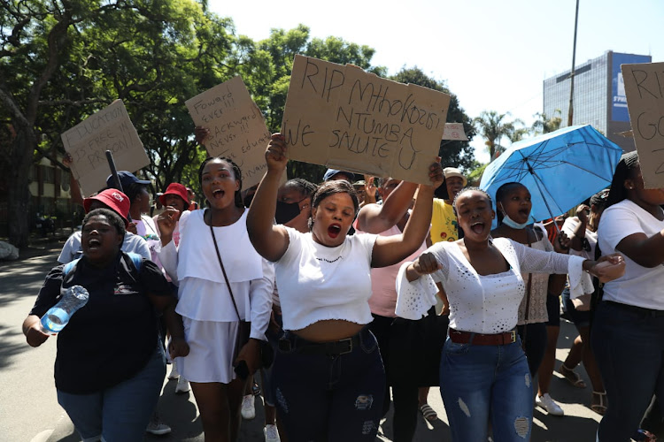 Students have vowed to continue protests until their demands have been met.