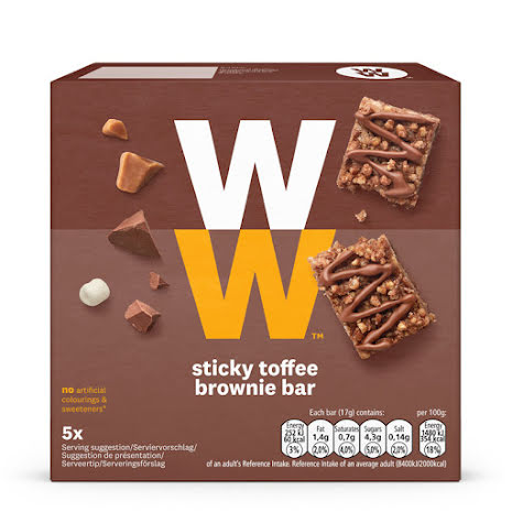 Chokladbar med kola- och browniesmak, 85g