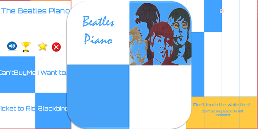 The Beatles Piano Tiles