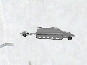ドイツ軍 Sd.Kfz.251ハーフトラック C型 & 3.