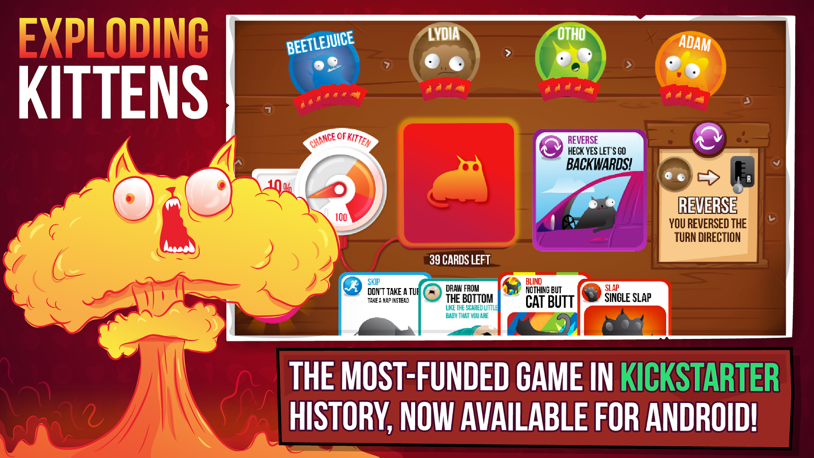 Exploding Kittens® - Official – скриншот