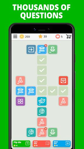 Free Trivia Game. Questions & Answers. QuizzLand. apktram screenshots 2