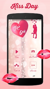 Kiss Day Greeting Cards 2018 - náhled