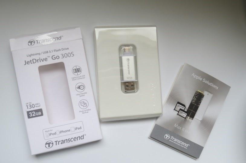Đánh giá USB Lightning 3.1 - JetDrive Go 300S 32GB - 163513