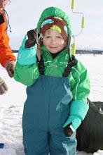 Photo: Mestaripilkkijä Eetu voitti alle 4 vuotiaiden sarjan 21 kalalla