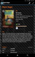 Screenshot of CLZ Comics - Comic Database