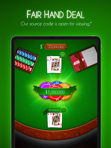 Blackjack! u2660ufe0f Free Black Jack Casino Card Game 1.7.0 screenshots 15