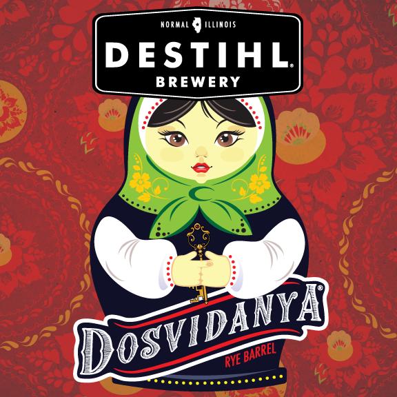 Logo of DESTIHL Dosvidanya Rye Barrel (2018)